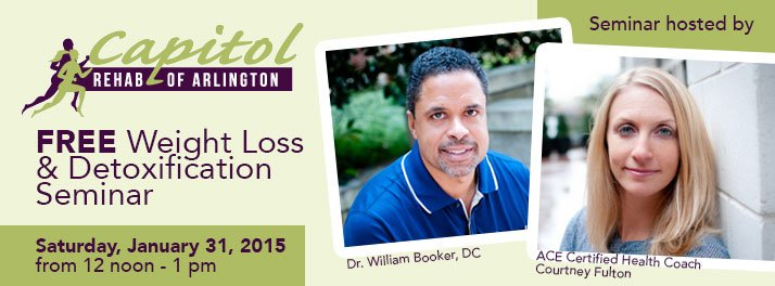 Free weight loss and detoxification seminar in Arlington Virginia