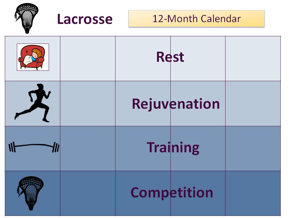 Lacrosse Calendar Legend