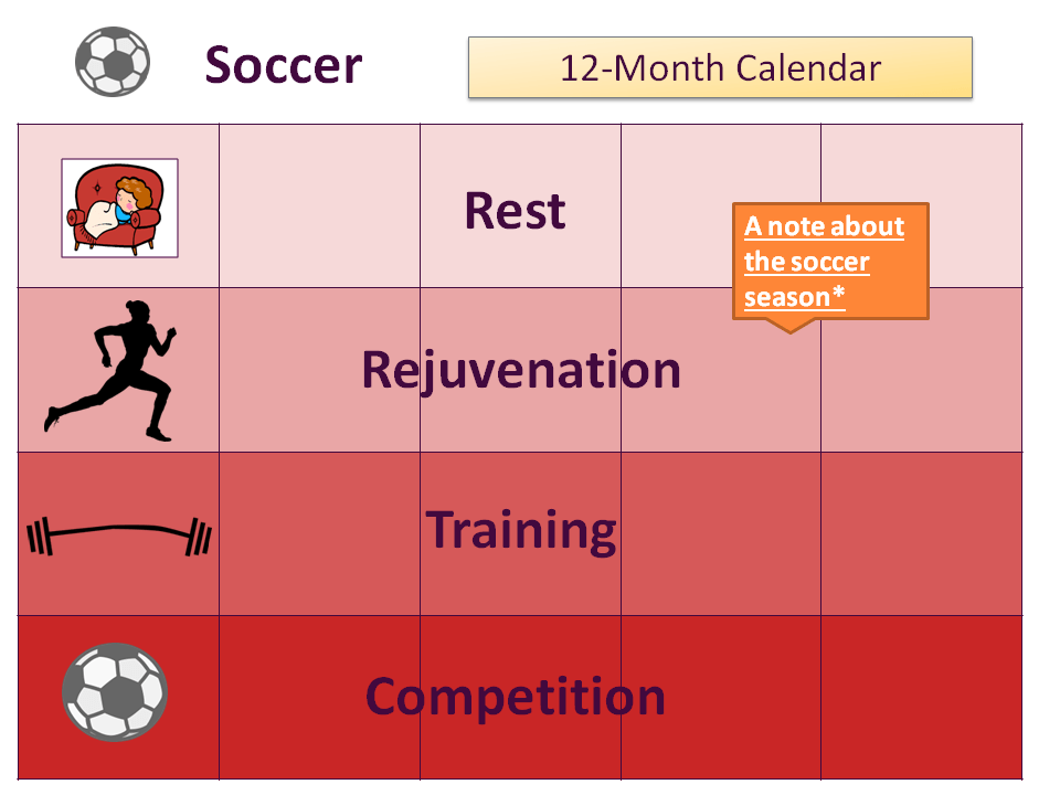 Soccer Calendar Legend