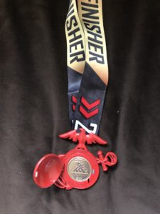 2018 Marine Corps Marathon Medal