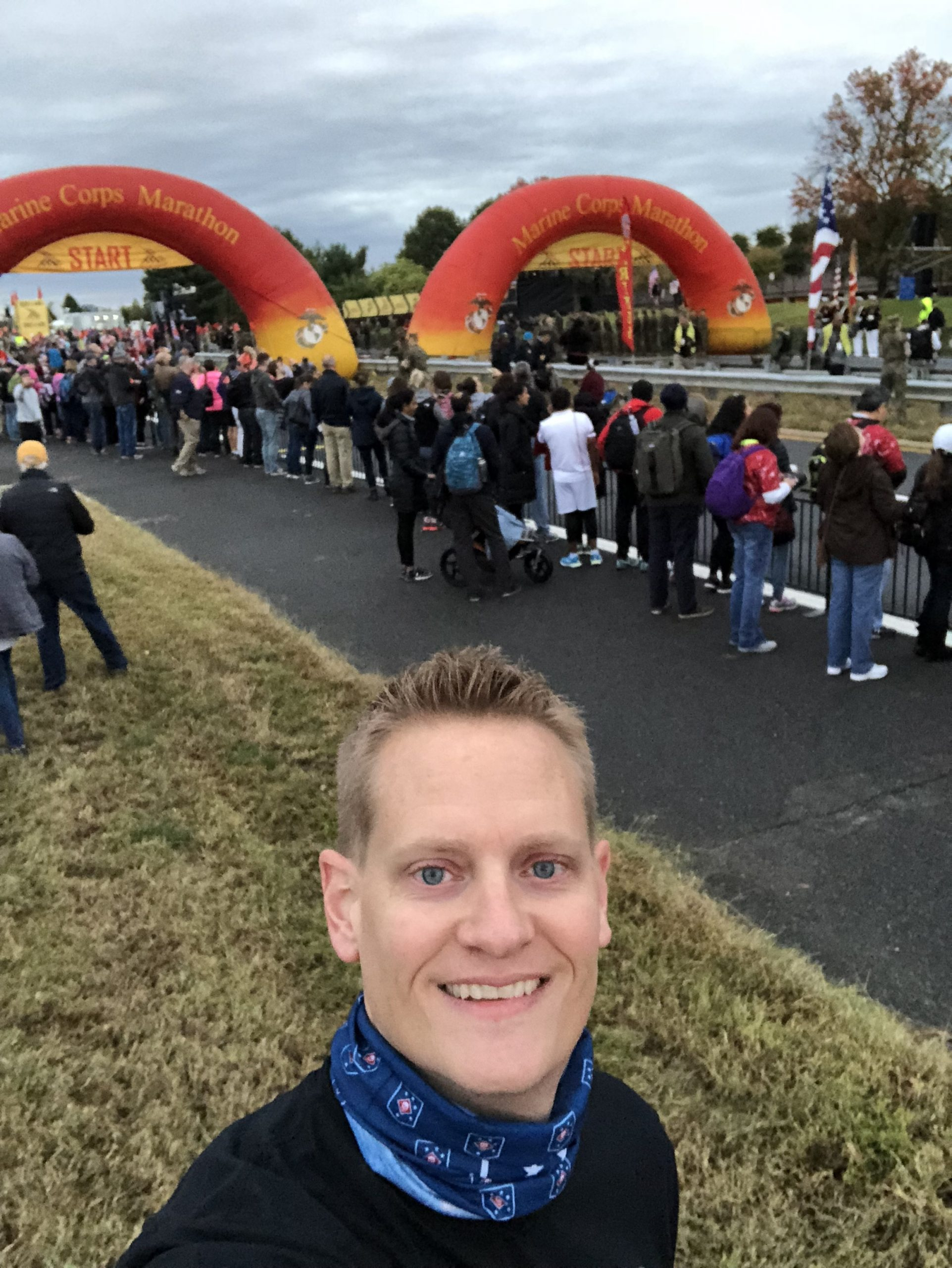How I Managed at the Marine Corps Marathon