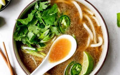 Immunity Minute: Pho Soup is the Chicken Noodle of the East
